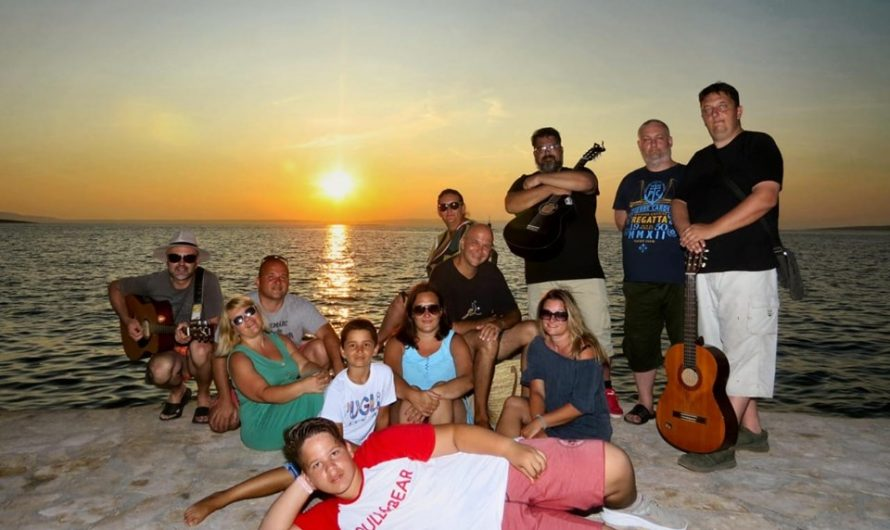 Naša oaza i malo lutanja na otoku Pagu