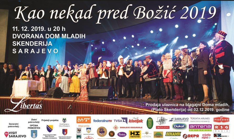 """Festival """"Kao nekad pred Božić"""" u Sarajevu"""