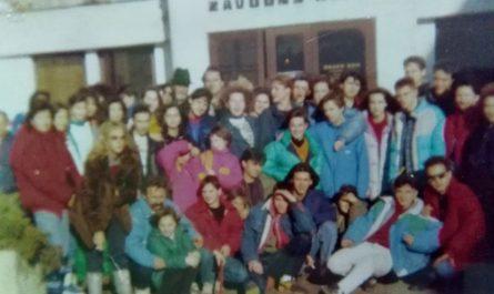 Zimovanje u Čehoslovačkoj 1990.