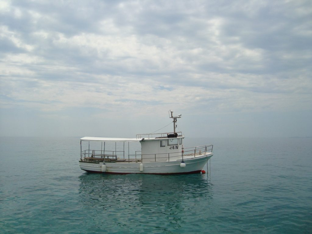 Usamljeni brodić