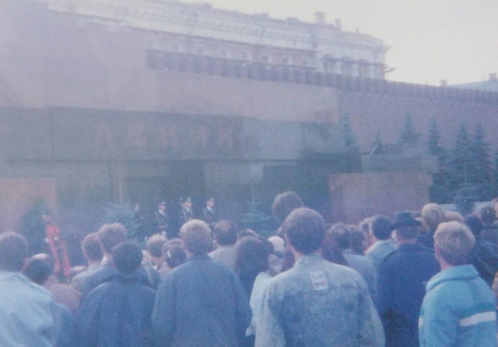 Crveni trg - ispred Lenjinovog mauzoleja