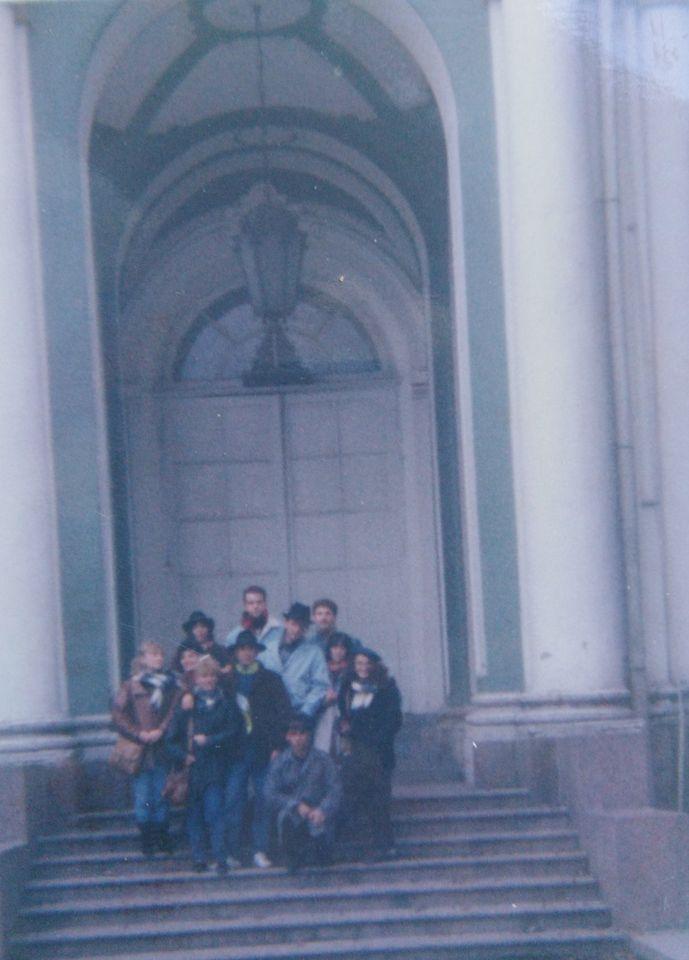 Ekipa sa putovaja sa vodičem Sašom iz Kijeva