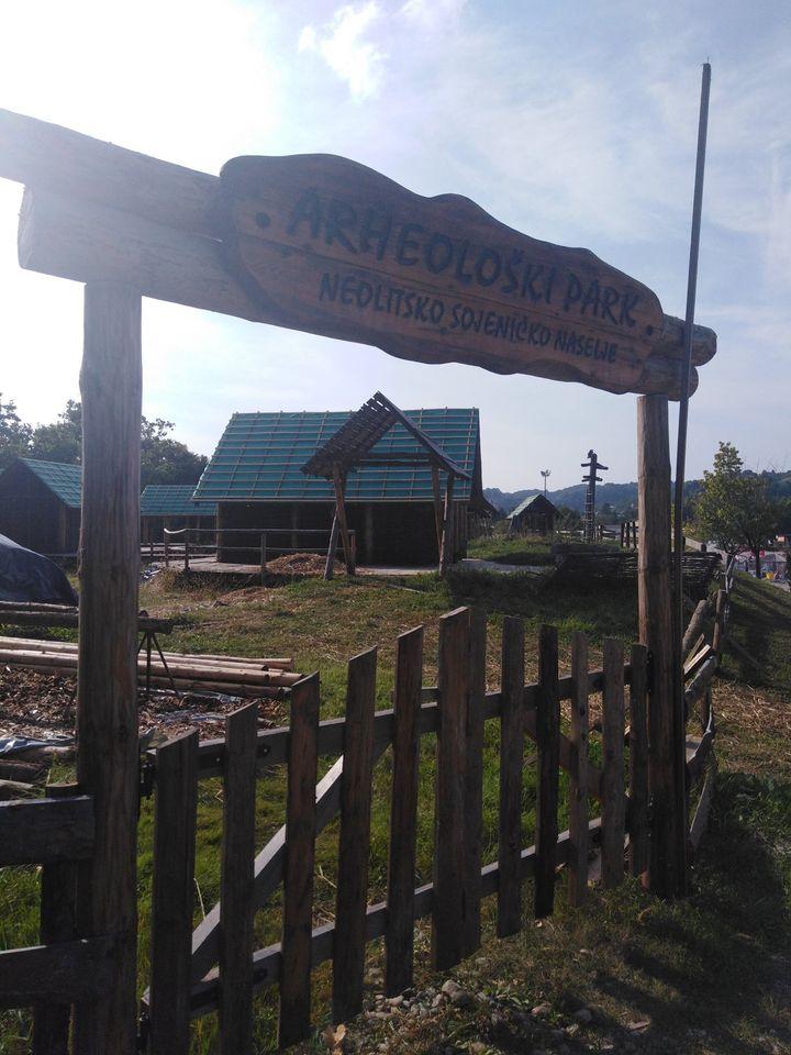 Arheološki park na Panonskim jezerima u Tuzli